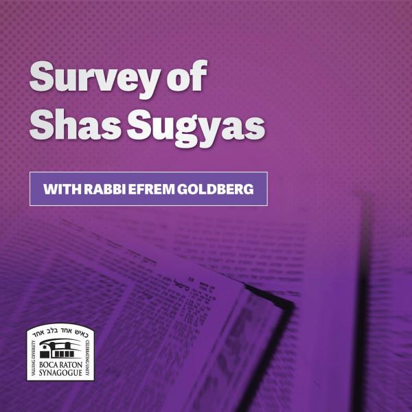 Survey of Shas Sugyas